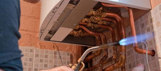 Problèmes de chauffage et de plomberie
