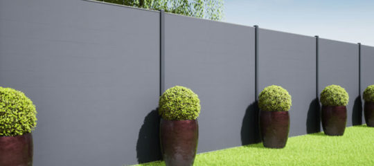 Choisir sa clôture occultante
