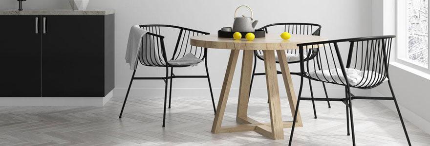 Choisir un modèle de table ronde