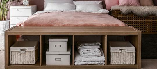 Avantages des lits avec rangement