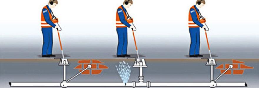 détection de fuite d'eau