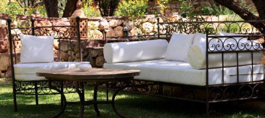 Mobilier salon de jardin