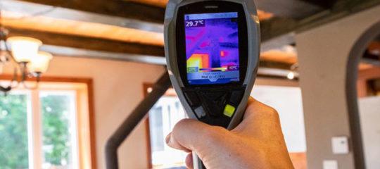 Recherche de fuite à Lille par thermographie