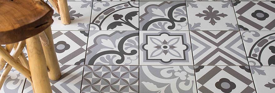carrelage style carreaux de ciment anciens