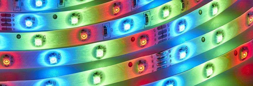 Types de rubans LED
